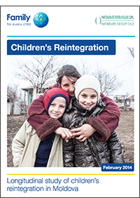 Children's reintegration: Longitudinal study of children's reintegration in Moldova