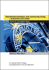 Deinstitutionalisation and community living – outcomes and costs: report of a European study