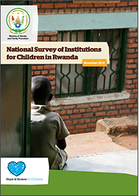 National Survey of Institutions for Children in Rwanda