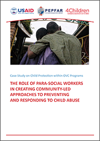 The Role Of Para-Social Workers In Creating Community-Led Approaches To Preventing And Responding To Child Abuse